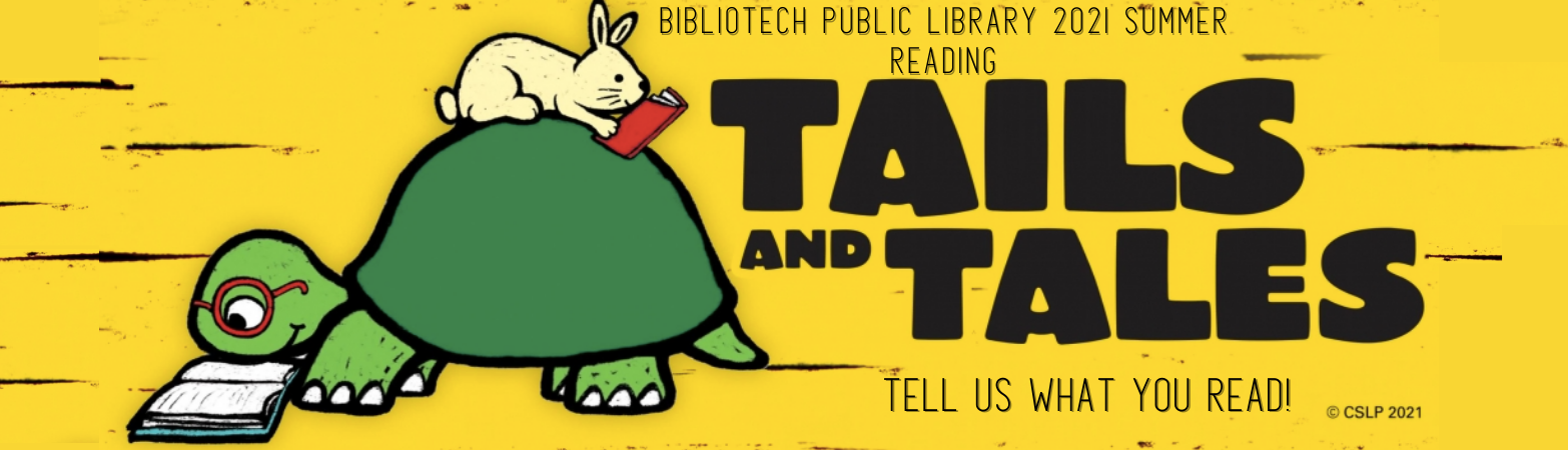 Click to fill out the form and tell us what you read for our summer reading 2021 program!