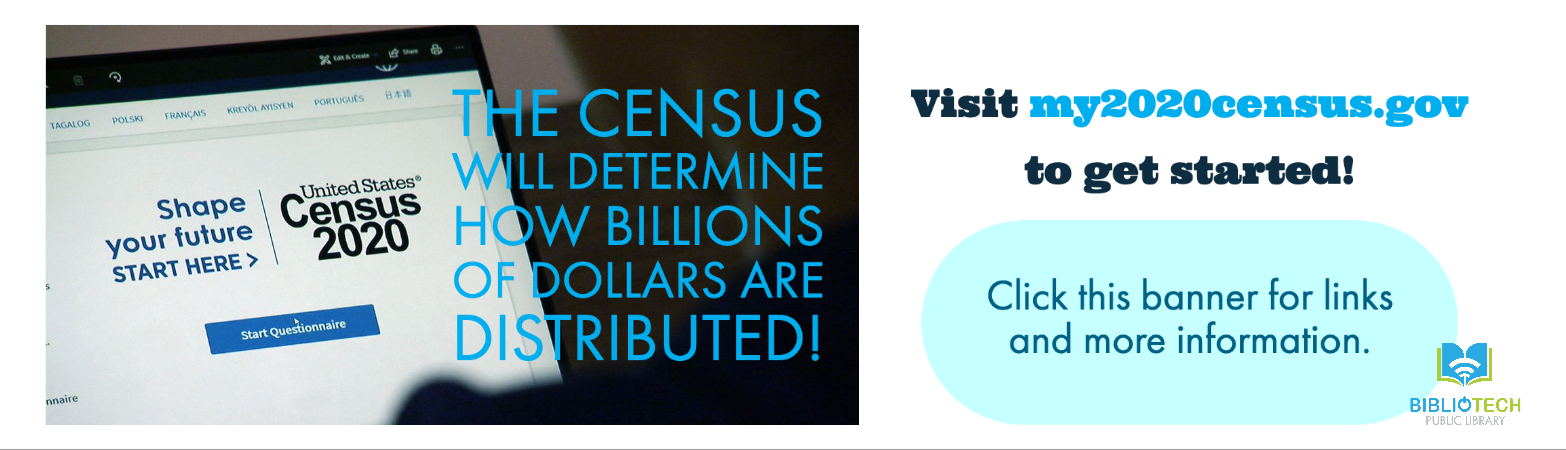Complete your 2020 Census today!