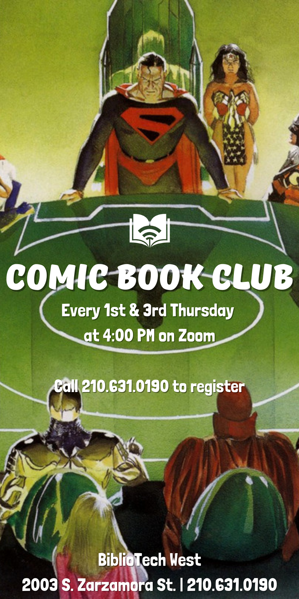 Comic Book Club - West Branch