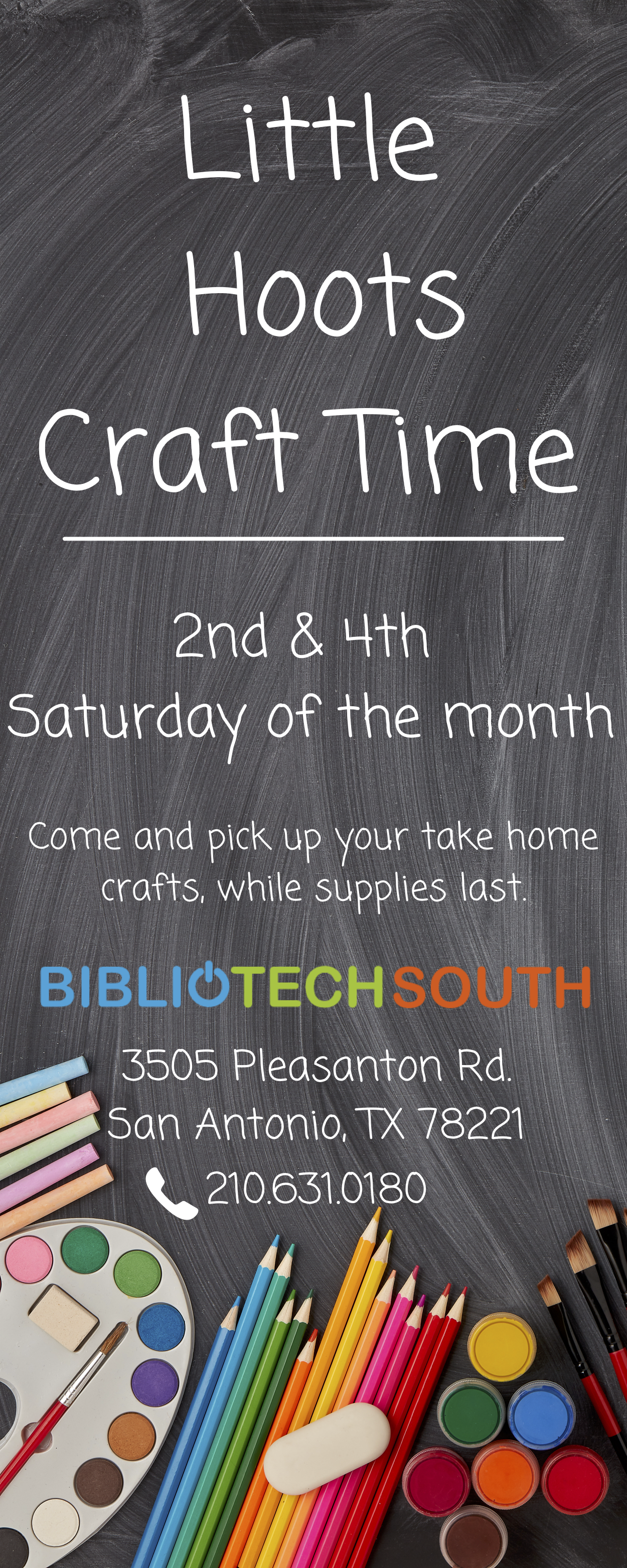 Little Hoots Craft Time - South Branch