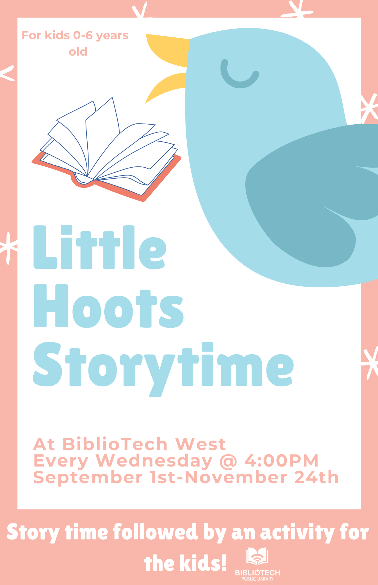 Litte Hoots Story Time - West Branch