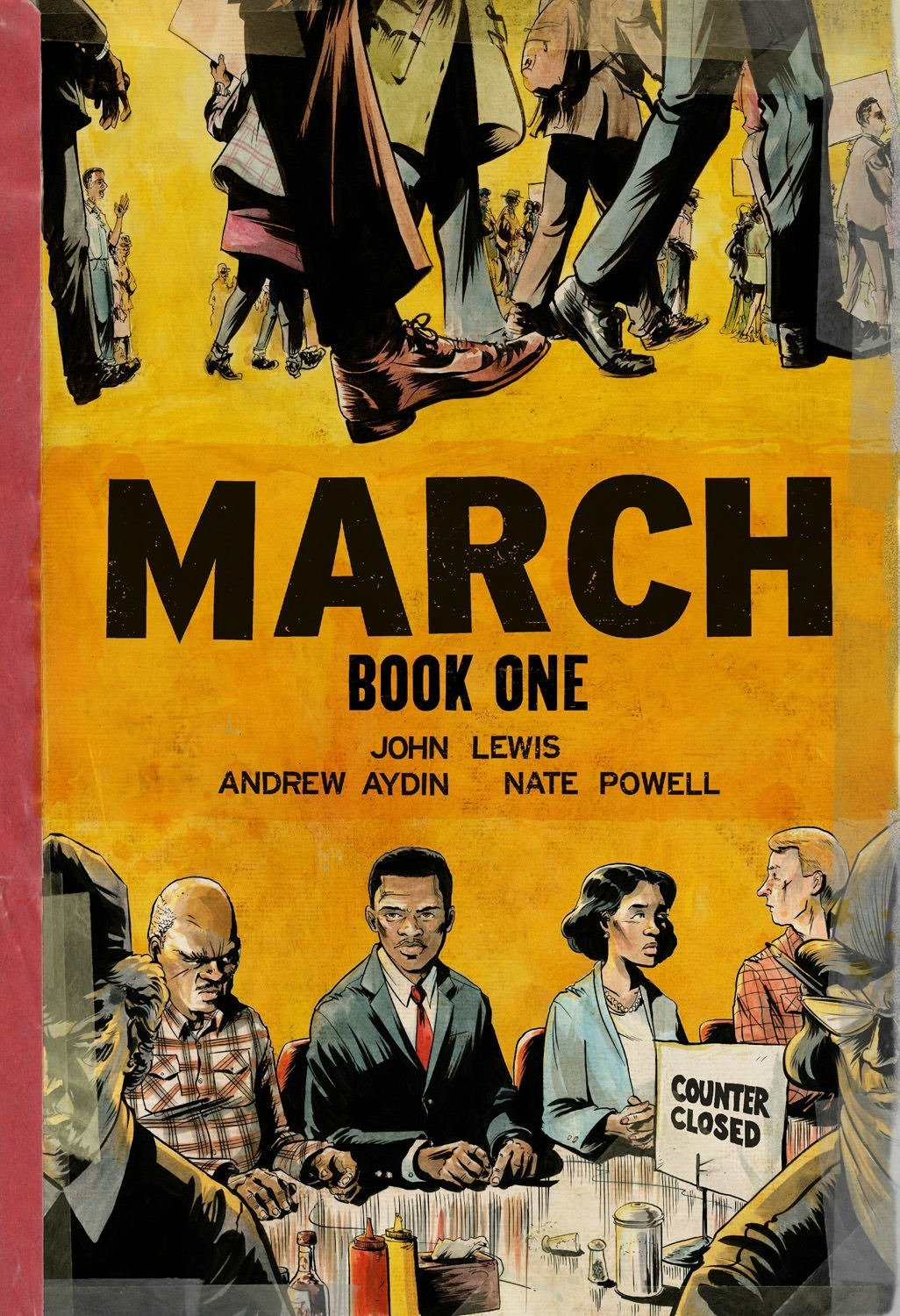 Cover of March: Book One by John Lewis