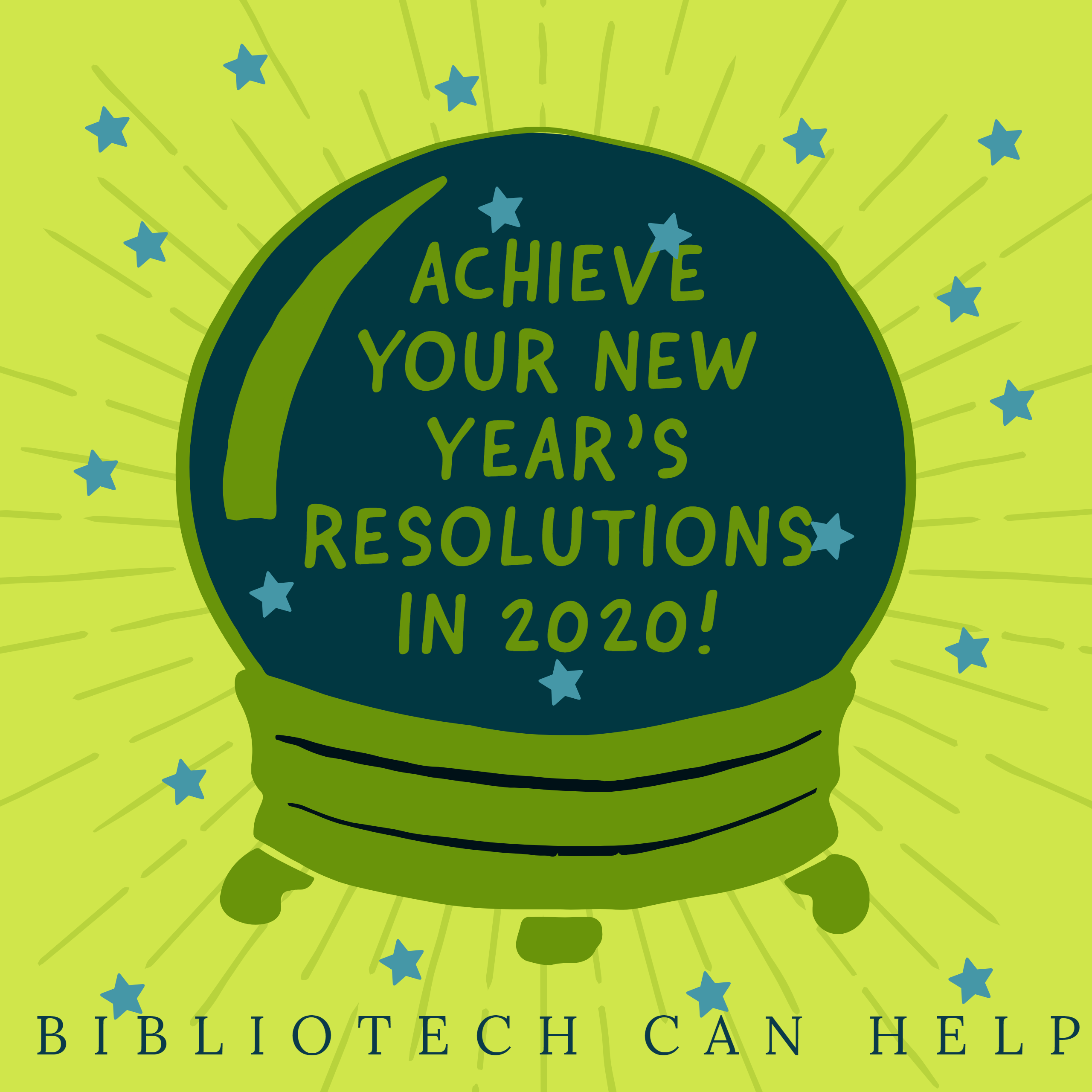 Achieve your 2020 resolutions with BiblioTech