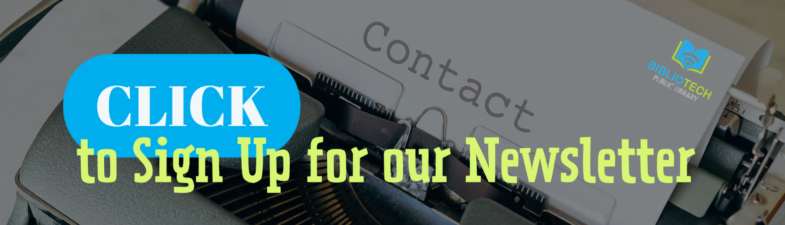 Click to sign up for our newletter
