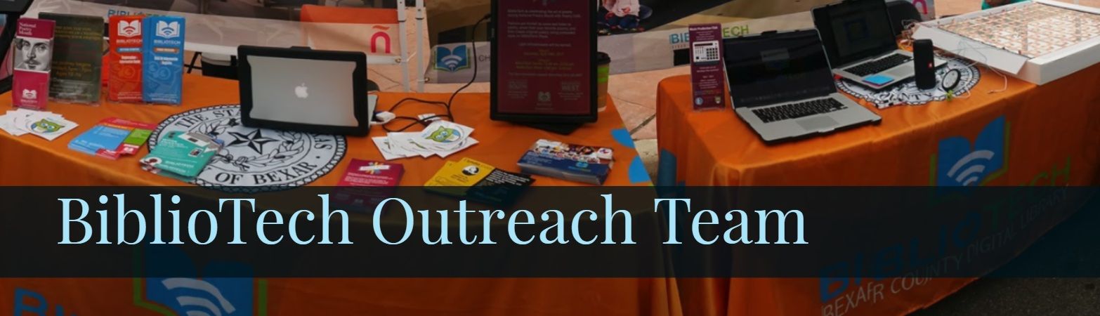 BiblioTech Outreach Event