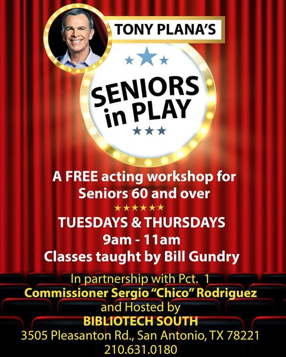Acting Classes for Seniors poster