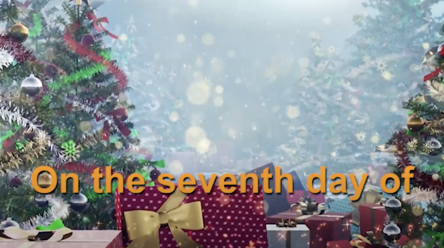 Screenshot of the 7th Day of Christmas