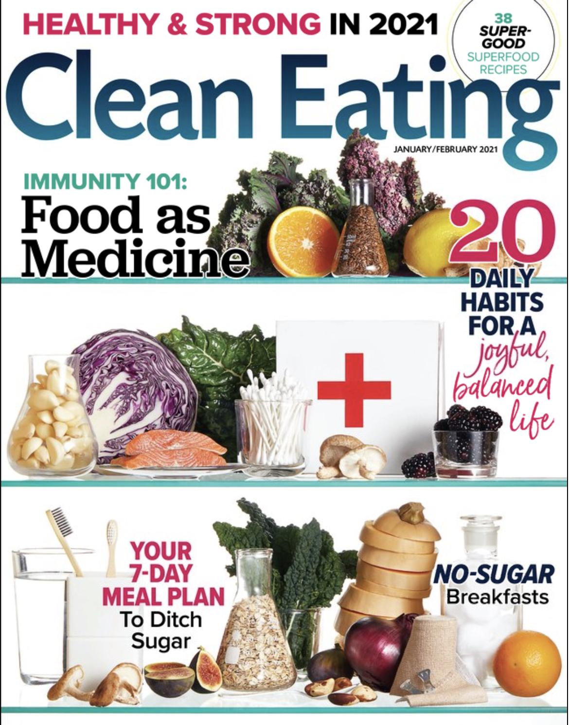 Clean Eating Jan 2021