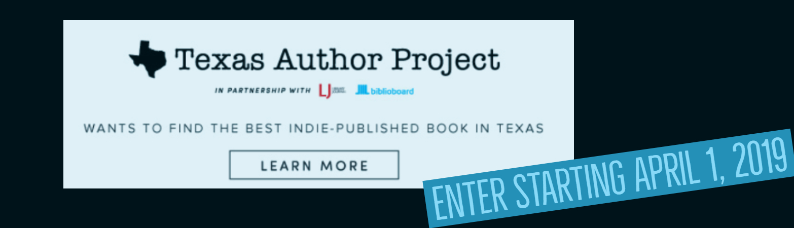 Texas Authors Project promotion