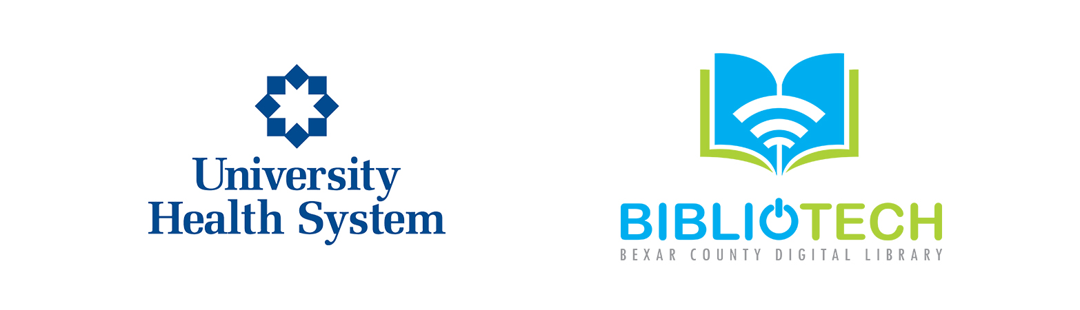 UHS Logo and BiblioTech Logo