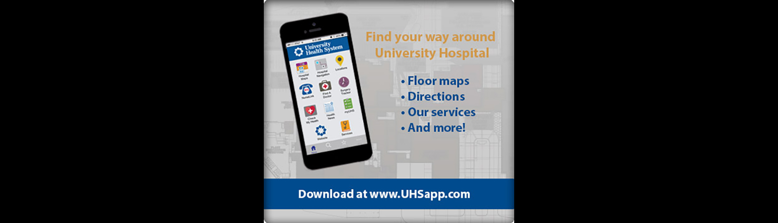 University Health System App Screenshot