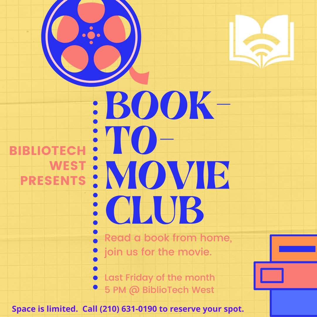 Book-to-Movie Club - West Branch