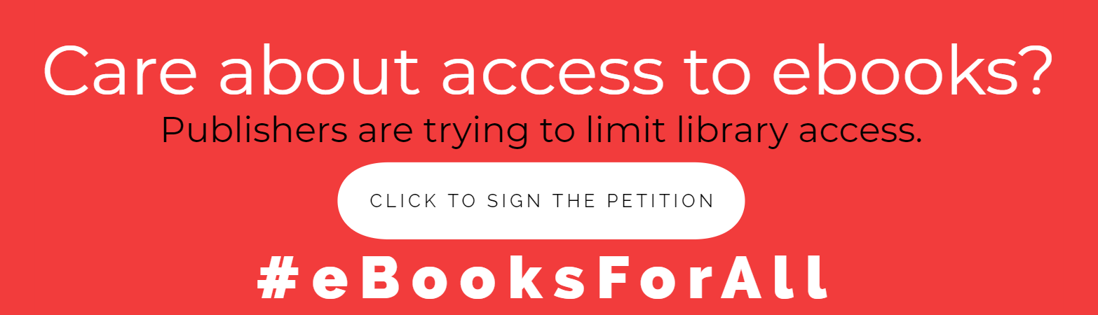 Sign the petition to protect ebooks from publisher embargos