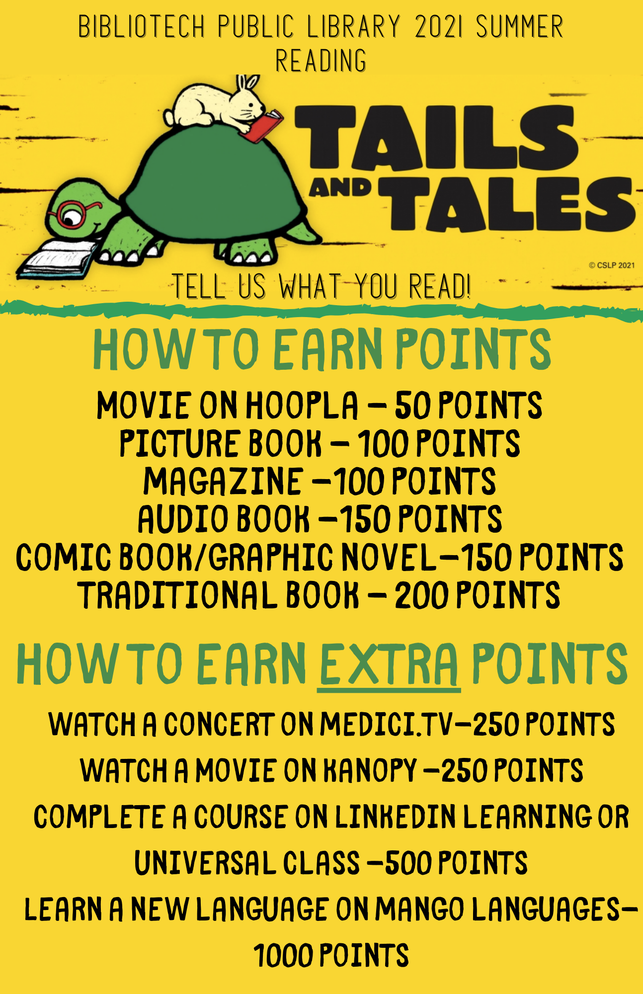 how to earn points by reading books, watching movies and more