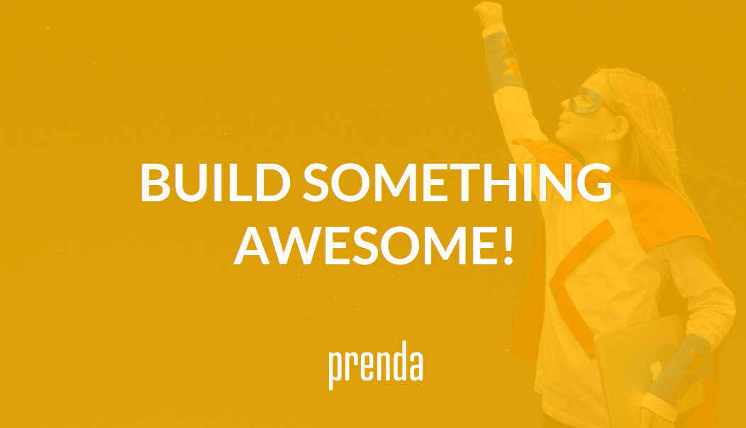 Build Something Awesome with Prenda